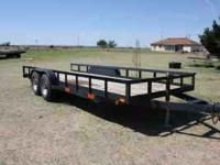 Selling this load king 20ft heavy duty trailer. It has