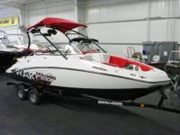 SUPER CLEAN 2010 SEA-DOO 230 WAKE WITH ONLY 46 HOURS!