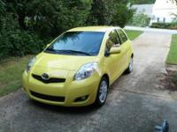 This is a loaded 2010 Toyota Yaris Sport model with all