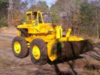 For Sale or Trade1950's Hough loader. Converted to gas,