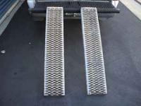 For sale: One pair of heavy-duty loading ramps. Would