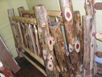 We have these really great Cedar beds that are local
