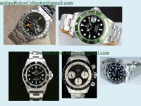 I am a local Rolex collector and connoisseur found in