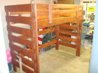 Brand new solid wood loft beds. Twin size: $350 Price