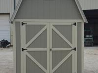 8'x12' Lofted Barn storage sheds, portable