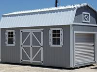 10'x20' Lofted Garage, Storage shed Portable