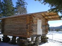 I AM SELLING AN UNFINISHED 12 x 16 LOG CABIN. My