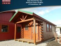 10'x24' Hunter Cabin(4' Porch)Total $14,015 plus tax