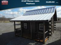 12'x10' PioneerLog Cabin PlayhouseOnly$4,855 plus tax