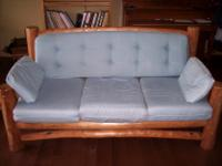 Type:FurnitureType:Sofa BedsLog couch and love seat