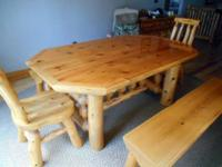 Common Cents Log Furniture & Collcetibles - Auction