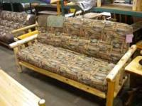 LOG FUTON WITH INNERSPRING FUTON MAT ONLY 599.99 CALL