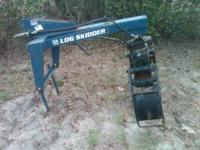 Log Grapple attaches to 3pt. hitch tractor, brand new,