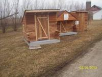 For sale is a NEW log shed, playhouse or what ever you