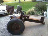 Log splitter 11hp electric start heavy duty, works