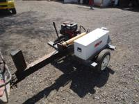 10? ton log splitter newer 7.5 hp briggs low hours,