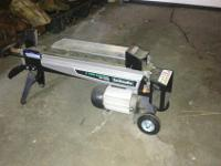 Brand new condition, used 1 time! LOG SPLITTER