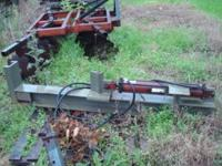 log splitter frame zinc dipped, can be hooked up to