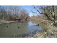 Hard to find 15.6 acres with frontage on the Hocking