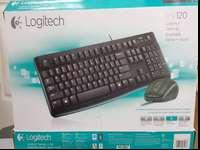 Logitech Desktop Keyboard/Mouse. Model MK120,