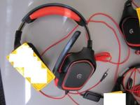 LOGITECH HEADPHONES, USED. IF INTERESTED, ITEM MUST BE