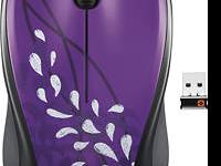 Logitech - M315 Compact Wireless Optical Mouse - Violet