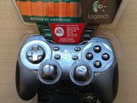 NEW CONDITION LOGITECH RUMBLEPAD2 JOYSTICK, WITH