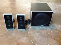 For sale is my speaker system for my computer. These