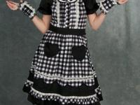 This dress is used for anime type cosplays(anime
