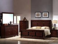 London Bedroom Set * Made of hardwoods and an agathis
