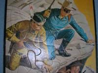 """1953"" LONE RANGER TRAY PUZZLE IN VERY GOOD CONDITION"