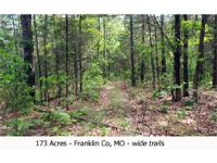 This 173 acres has at least 168 acres of woods with 5
