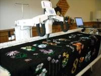 Super quickly turn-around time for long arm quilting of