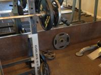 Made use of Long Olympic Barbell for Sale in West