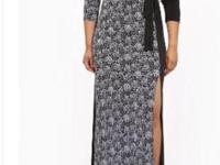 Plus size maxi dress made of comfortable stretch knit