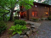 This 3 bedroom/ 2 bath cabin has a stunning long-range