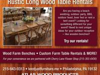 Type: GardenType: Tableswe do the woodworking
