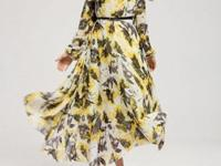 Check out this lovely exotic style maxi dress with a