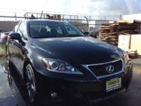 2011 Lexus IS 250 Ext.: BLACK VIN: JTHBF5C25B5138333