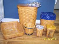 I have a number of Longaberger Baskets that I will