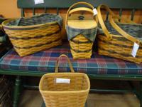 Longaberger Traditions Collection Fellowship Baskets