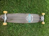 I have a long board skate board with opposing flex in