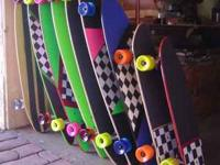 Customize your own longboard online for $75 and minis