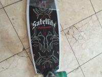 Longboard with kicktail. This ad was posted with the