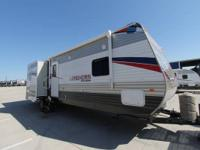 2014 33 foot bunk house travel trailer by Longhorn We
