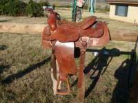 Hi, For sale is a longhorn Brand western roping