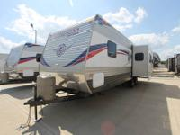 Longhorn 30 RK Travel Trailer -15,000 BTU A/C -Rear