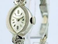 Movement: Excellent Condition; Manual Material: White