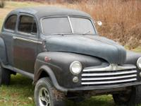 This is a 1948 FORD,4 X 4,mounted on a Dodge Ramcharger