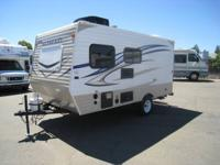 Brand New 2014 Nomad 162 Travel Trailer, Rear Bunk